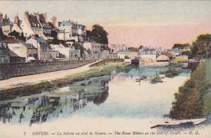 The River Nièvre On The Foot Of Nevers, Nevers (Nièvre), France, 1900-1910s