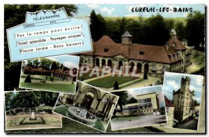 Old Postcard Luxeuil les Bains