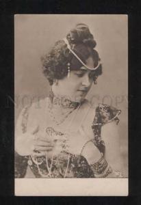 057976 BELLE as BELLY DANCER vintage PHOTO card