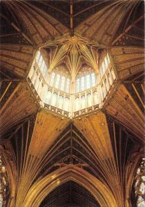 BR76250 ely cathedral lantern interior  uk