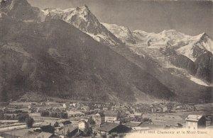 France Chamonix 6 Postcards Lot  01.12