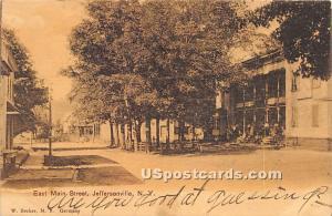 East Main Street Jeffersonville NY 1907