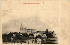 CPA Chateau de St-PAL-en-CHALENCON (658105)