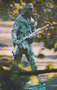 Kentucky Louisville Daniel Boone Statue Cherokee Park