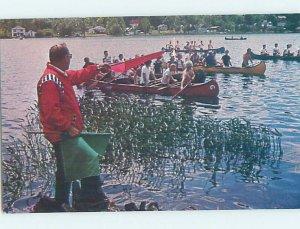 Chrome BOATS SCENE Adirondacks - Saranac Lake New York NY AH5181@