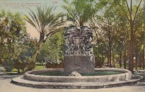 Florida Tampa Fountain At Entrance To Tampa Bay Hotel