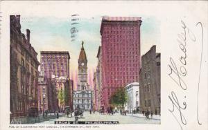 Pennsylvania Philadelphia Broad Street 1904