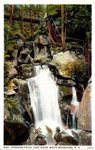New Hampshire White Mountains Lost River Paradise Falls 1927