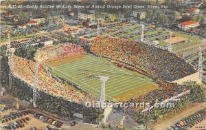Roddy Burdine Stadium, Annual Orange Bowl Game Miami, Florida, FL, USA Unused
