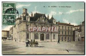 Old Postcard Bank Caisse d & # 39Epargne Valencia