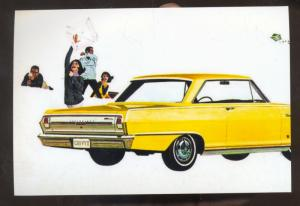 1964 CHEVY II NOVA CAR DEALER ADVERTISING POSTCARD '62 CHEVROLET NOVA 2