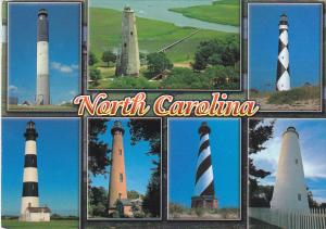 North Carolina Lighthouses Multi View