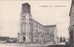 CAMPBON , France , 00-10s ; L'Eglise et la Place