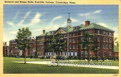 Briggs Halls, Radcliffe College Cambridge, Massachusetts MA