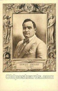 Enrico Caruso Opera Unused