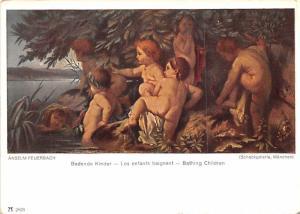 Badende Kinder - Anselm Feuerbach