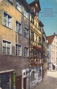 Nurnberg, Wohnhaus des Meistersingers Hans Sachs, ehem, Gasthaus zum gildenen...