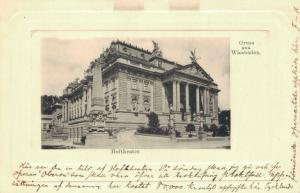 Germany Gruss aus Wiesbaden Hoftheater 02.59