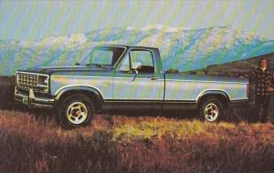 Ford Pickups First New Truck Of The '80s