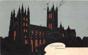 uk41217 canterbury cathedral  uk color novelty