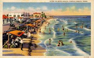 TX - Corpus Christi. Scene on North Beach