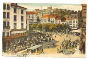 Bird's Eye View, SAINT ETIENNE, La Place du euple, France, PU-1913