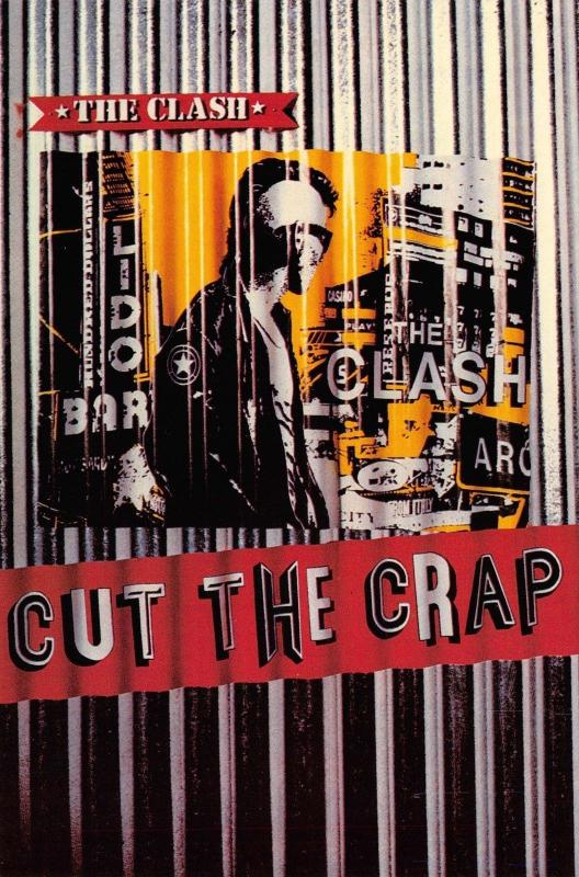 Postcard The Clash - Cut The Crap, Pop Punk Music Group F91