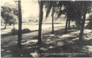 Children's Wading Pool in City Park, Bridgeton, New Jersey,  00-10s