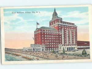 Unused W-Border SHELBOURNE HOTEL Atlantic City New Jersey NJ B1608