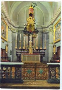 Switzerland, Morcote, Interno della Chiesa, unused Postcard