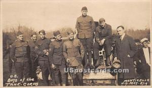 US Boys of the Tank, Corps Monticello NY Unused