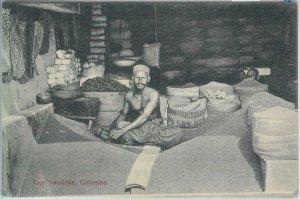 80393  -   CEYLON  - VINTAGE POSTCARD   -  COLOMBO  - Ethnic : Rice Boutique