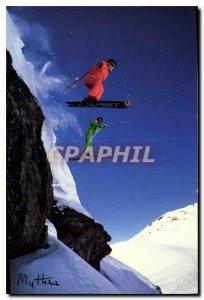 Postcard Modern Skiing