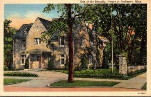 Minnesota Rochester One Of The Beautiful Homes 1943 Curteich