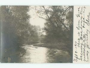 Pre-1920 rppc CARD WRITER SAYS THIS IS LINN GROVE By Cherokee & Spencer IA i7176