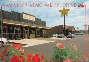 Tennessee Nashvilles Music Valley Drive The Music Valley Wax Museum Of The St...
