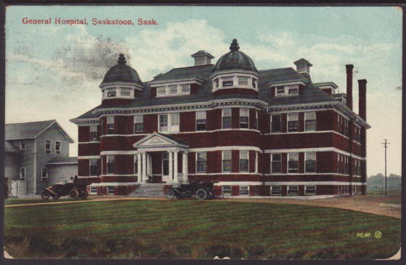 General Hospital,Saskatoon,SK,Canada Postcard