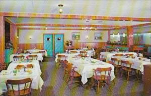 Dining Room Interior The Willows Lodge Motel & Restaurant Lancaster Pennsylvania