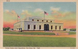 Kentucky Fort Knox U S Gold Depository Curteich