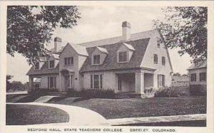 Colorado Greeley Bedford Hall State Teachers College Albertype