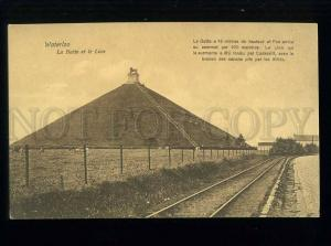 213711 BELGIUM WATERLOO LION NAPOLEON WAR Vintage postcard