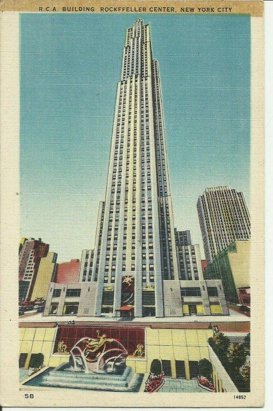 New York City, Rockefeller Center, R.C.A. Building
