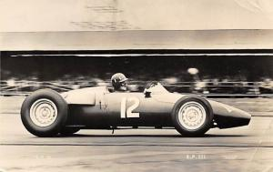 Graham  Hill driving the BRM in the British Empire Trophy Race at Silvertone ...