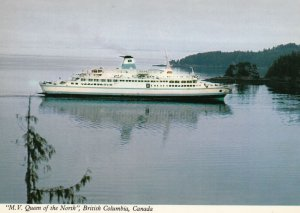 PRINCE RUPERT , B.C. , Canada , 1960-80s ; Ferry M.V. QUEEN of the NORTH