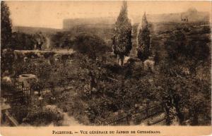 CPA Palestine Vue Generale du Jardin de Gethsemani ISRAEL JERUSALEM (752273)
