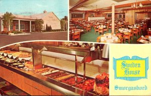 Florida Fort Lauderdale Sweden House Smorgasbord Restaurant North Federal Hig...