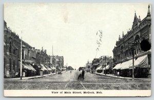 McCook Nebraska~Main Street~Thompson General Mdse Store~Hotel~Kimmell Pub~1910