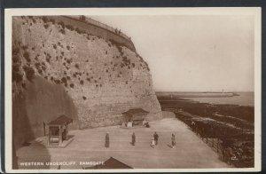 Kent Postcard - Western Undercliff, Ramsgate     RS11089