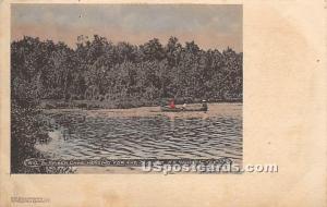 Amber Lake White Lake NY Postal used unknown