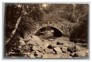 Vintage 1900's Photo Postcard Maplehurst Inn Stone Bridge Antrim New Hampshire